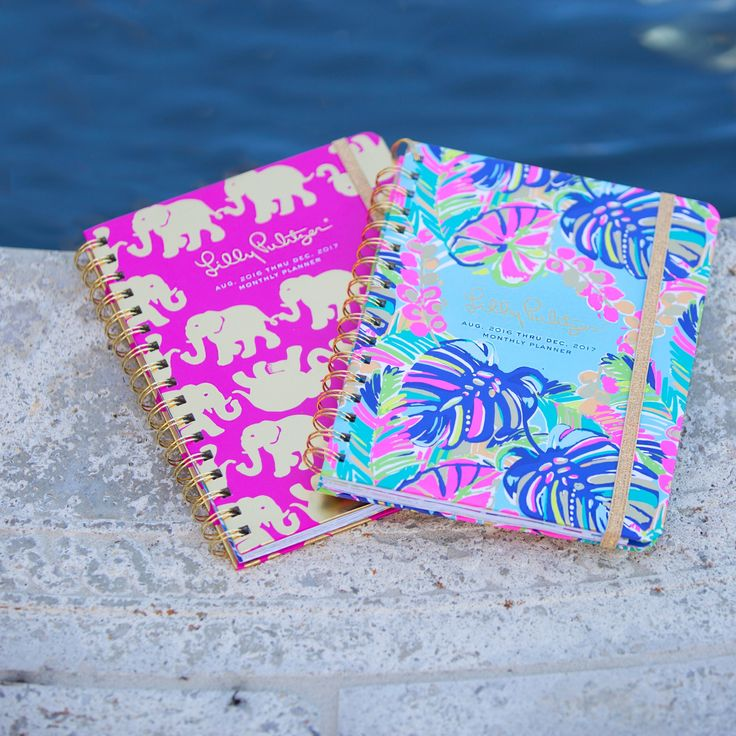 Lilly Pulitzer 2016-2017 Monthly Planner