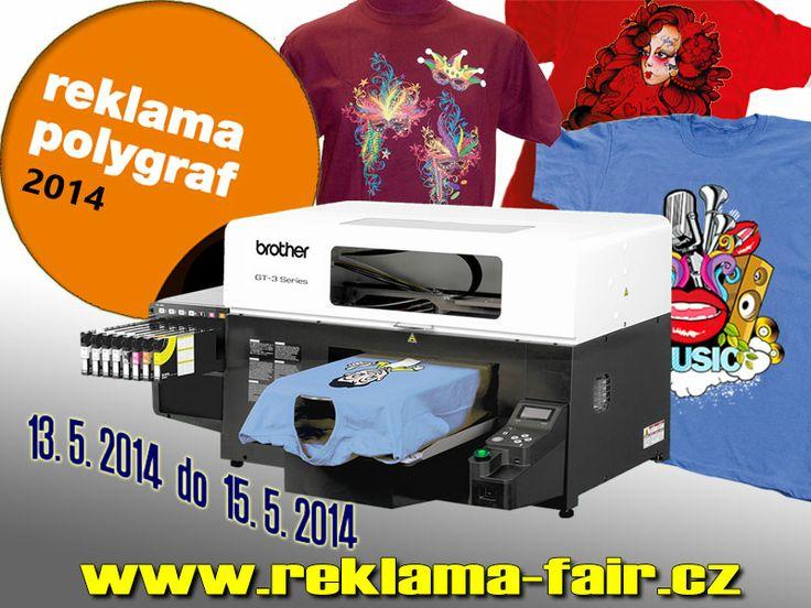 Přijďte nás navštívit - Hala 3 , stánek  číslo 354   Uvidíte na vlastní oči profesionální,  vysoce kvalitní tisk na textil !!!