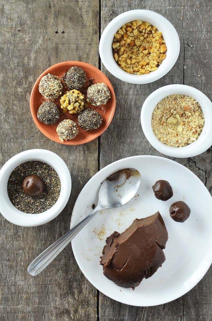 Como fazer brigadeiros alternativos: sem açúcar e sem leite condensado