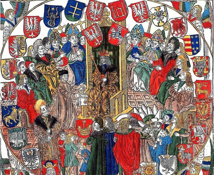 Johann Haller, Commune Incliti Poloniae regni privilegium constitutionum et indultuum publicitus decretorum approbatorumque (1506, cropped) - Radom – Wikipedia, wolna encyklopedia