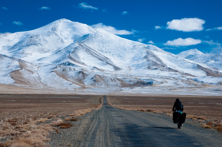 Pamir Highway in early winter