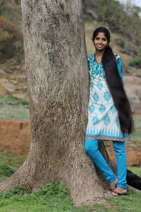 Indian long hair play-4652