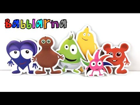 Babblarna Pappfigurer! - YouTube