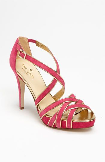 kate spade ginger sandals -Laura- you could totally walk in these!