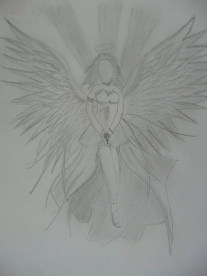 Angel without the face