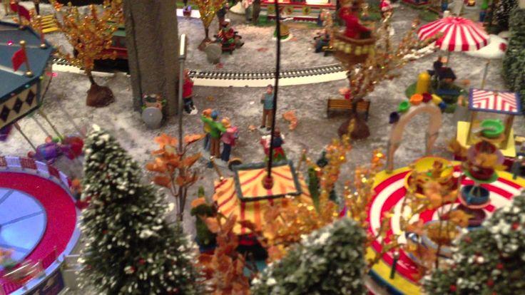 124 Best Christmas VILLAGE Display Ideas Images On