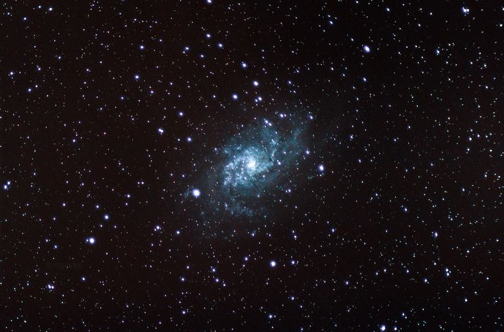 Triangulum Galaxy from my backyard. [2800x1848]