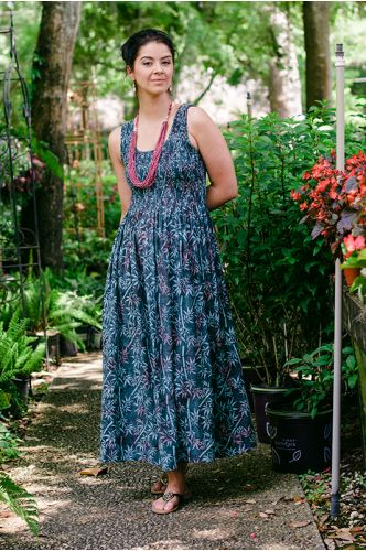 Cabana Batik Maxi Dress | Indonesia | shopgofish.com