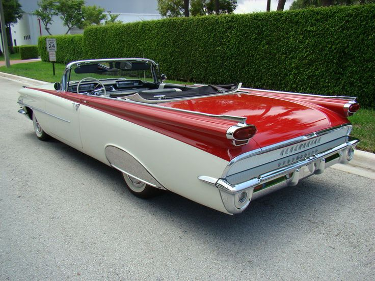 '59 Oldsmobile Rocket 88 Convertible