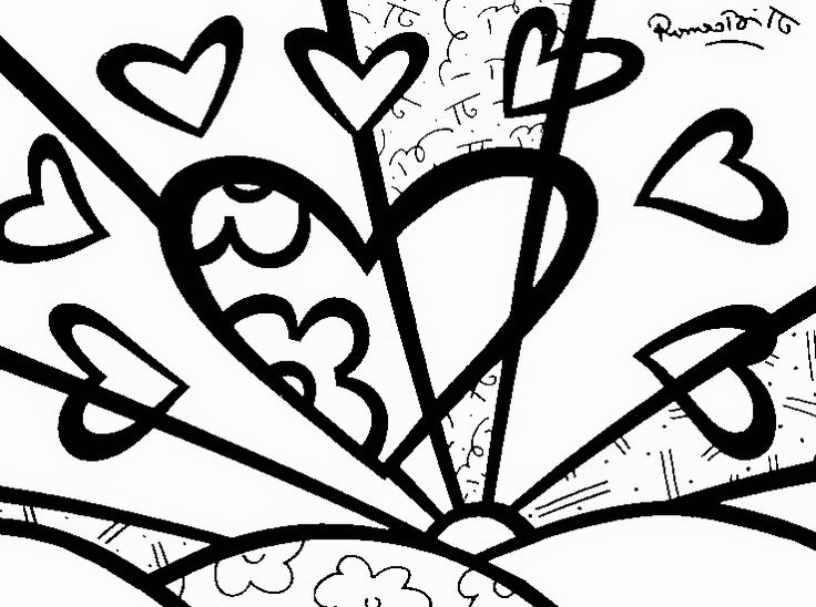 britto coloring pages - photo#23