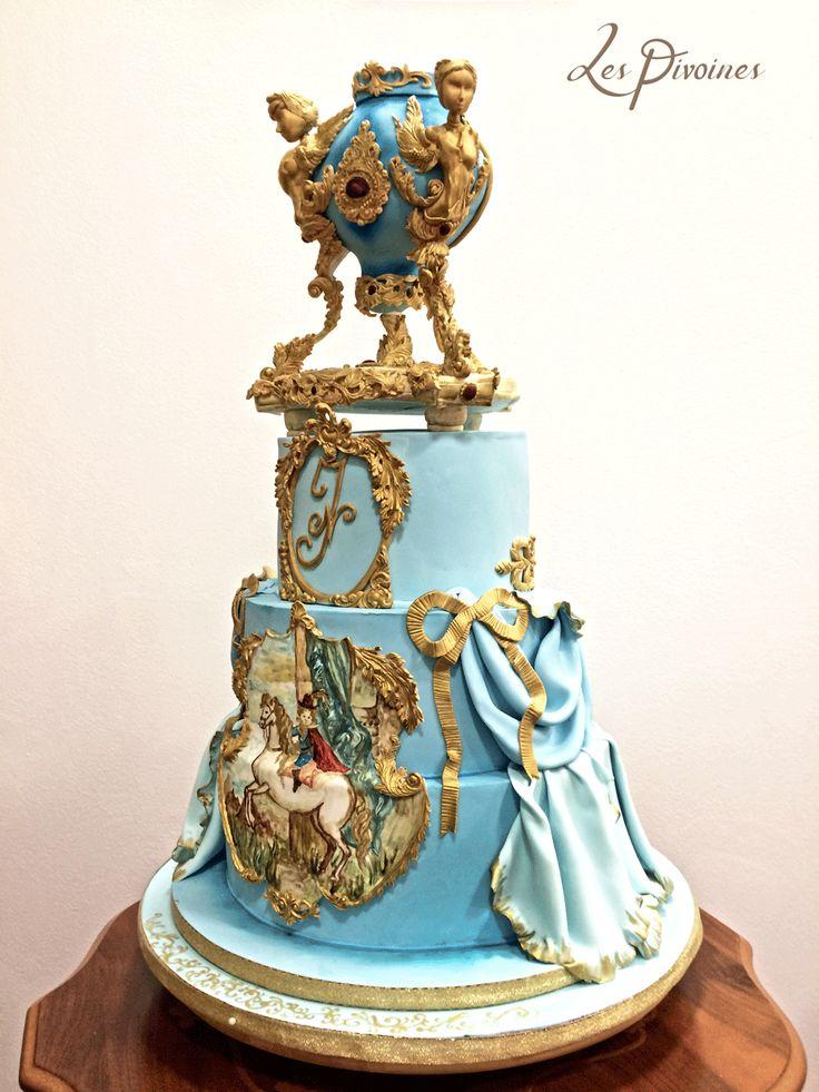 Tort extravagant de nunta