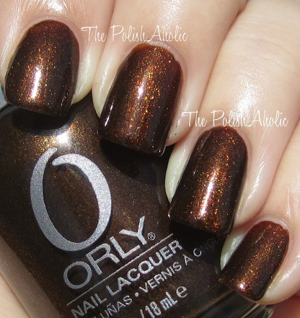 Nail Polish of the Moment: Orly Buried Alive. Love this for fall- the color is so rich!