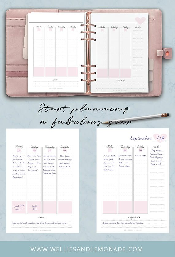 student planner college planner school planner academic diary