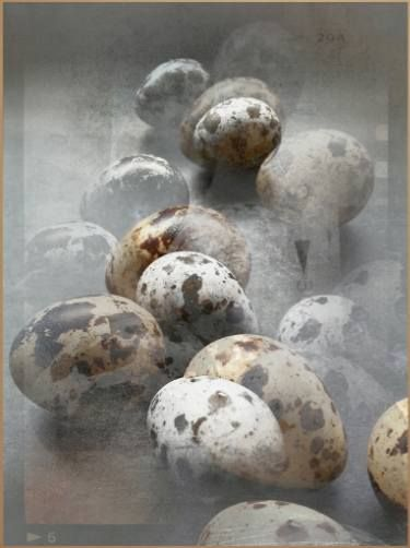"Saatchi Art Artist Dagmar Lukes; Photography, ""Projected eggs"" #art"