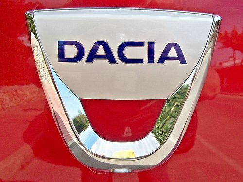 26 Dacia Badge