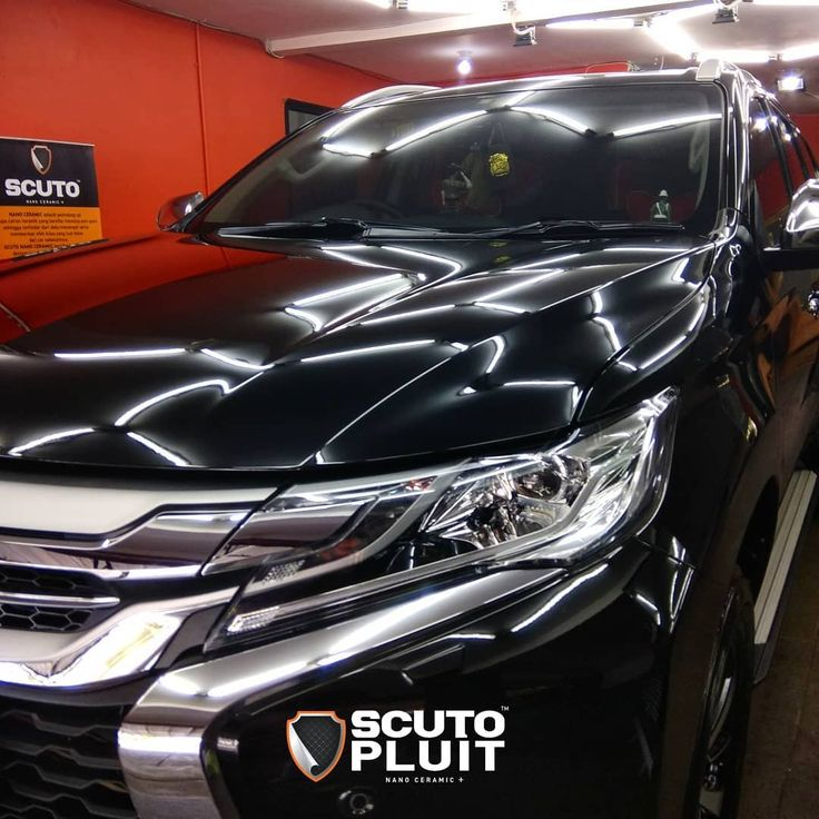 Mitsubishi Pajero Sport coated with SCUTO PLUIT'S Nano Ceramic  For more info please contact: SCUTO PLUIT Call/WA : 6287888810599 LINE : scutopluit  Contact us #SCUTOPLUIT for your Permanent 9H Nano Ceramic Protection.  SCUTO PLUIT is ready to serve you with the Best Automotive Nano Ceramic Paint Protection.  Protect your Cars & Bikes with our Permanent 9H Nano Ceramic Paint Protection for Long Lasting Shine Hydrophobic Effect and Protection against oxidation dust & waterspot.  Follow…