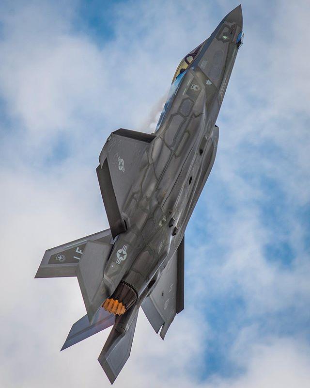 U S  Air Force F-35A Lightning II #military #armedforces