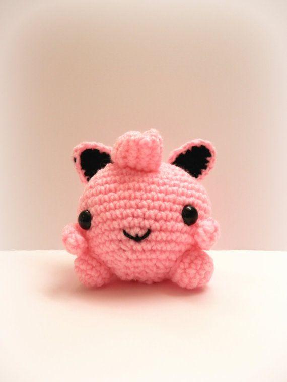 Crochet JigglyPuff Inspired Chibi Pokemon by MissJennysCrochet