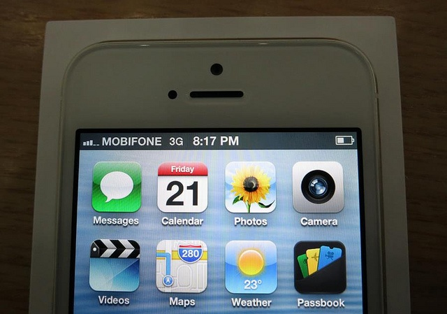 iPhone 5 with Mobifone. http://alliphone5cases.com