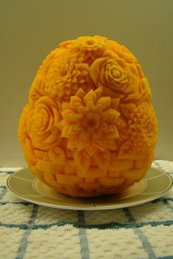 Pumpkin fruit carving pinterest pumpkins