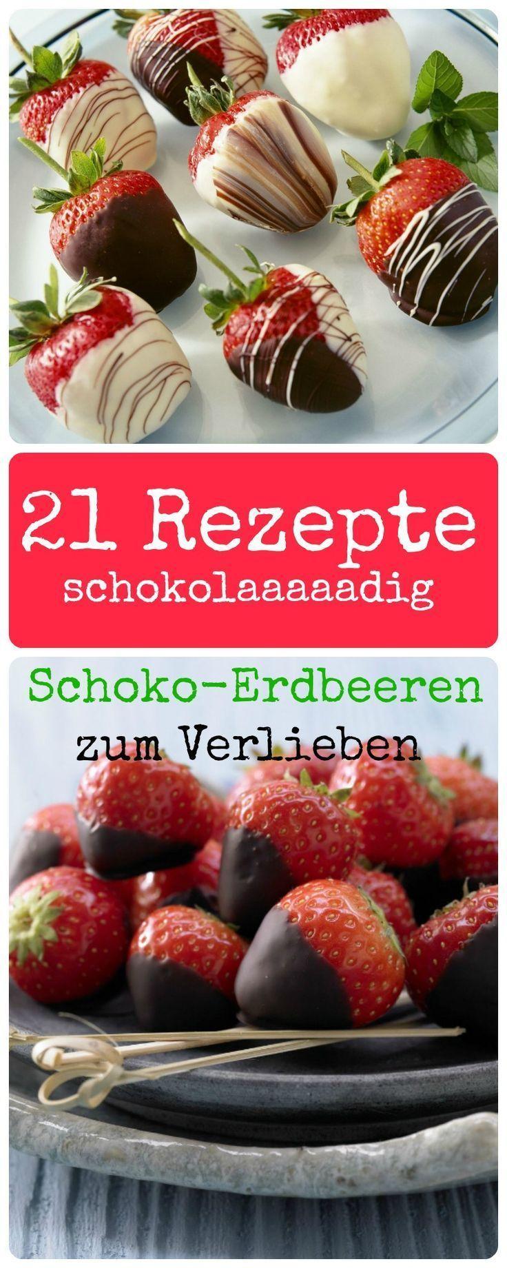 Schoko-Erdbeeren – #SchokoErdbeeren – #SchokoErdbeeren