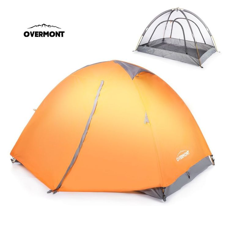 Camping Tent 2 Person Double Layer Hiking Travel Portable Waterproof Outdoor NEW