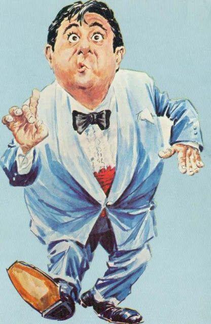 Buddy Hackett - CARICATURE: http://dunway.com/