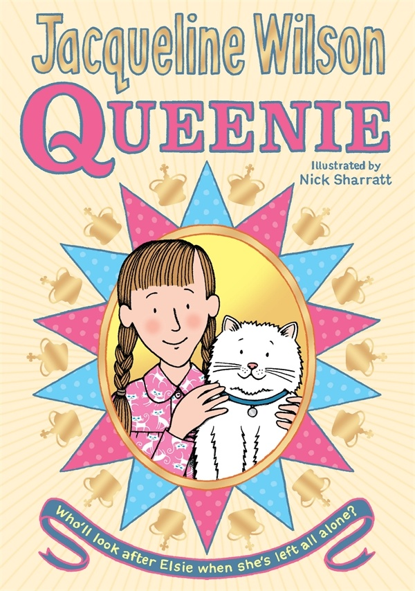 Queenie - Jacqueline Wilson. I'm reading this book at the moment and it's really good! One of the best books she's done in my opinion! Haha