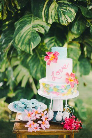Tropicana Wedding: 30 свадебных тортов для жаркого лета - The-wedding.ru