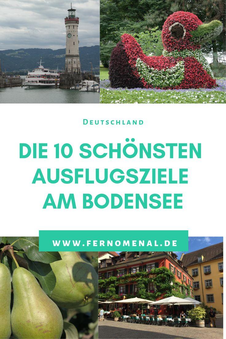 Die 10 schönsten Ausflugsziele am Bodensee