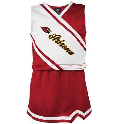 Arizona Cardinals Youth Girls Team Spirit 2-Piece Cheerleader Set - Cardinal
