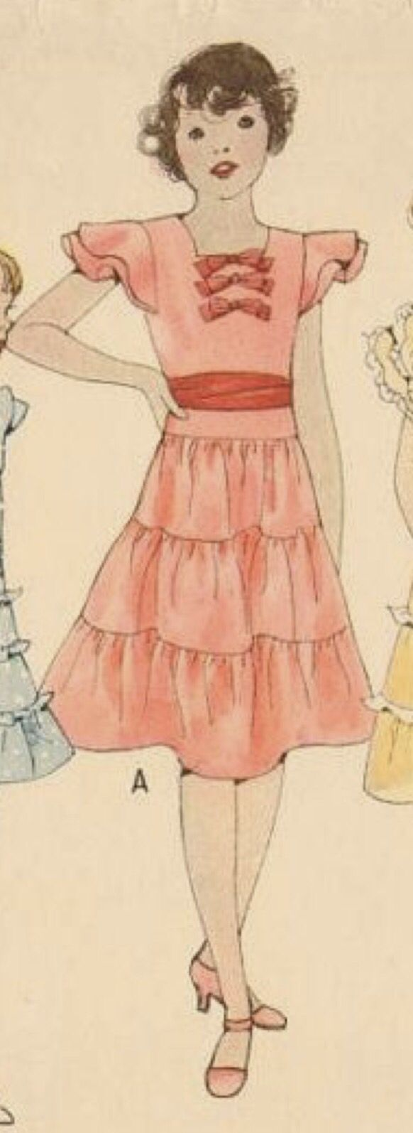 101 best 2ntage 1930s girls patterns images on pinterest child clothes kids fashion historical clothing girl outfits 1930s sewing patterns kid jeuxipadfo Choice Image