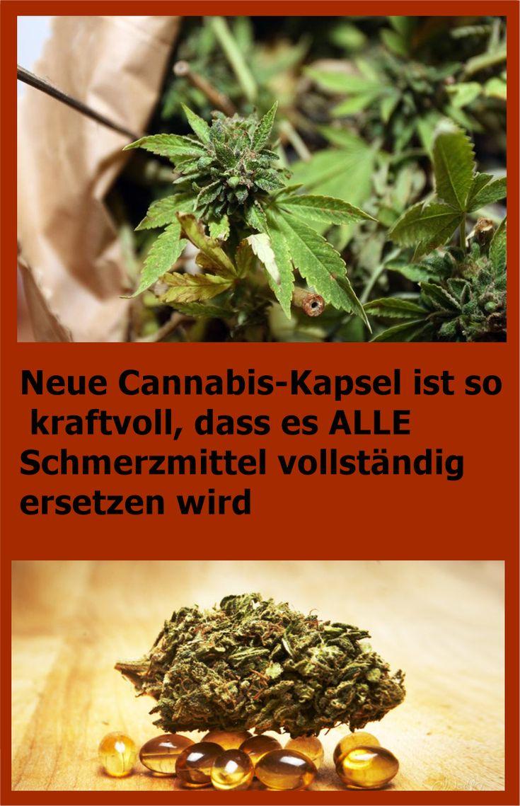 Neue Cannabis-Kapsel ist so kraftvoll, dass es ALLE Schmerzmittel vollständig e…