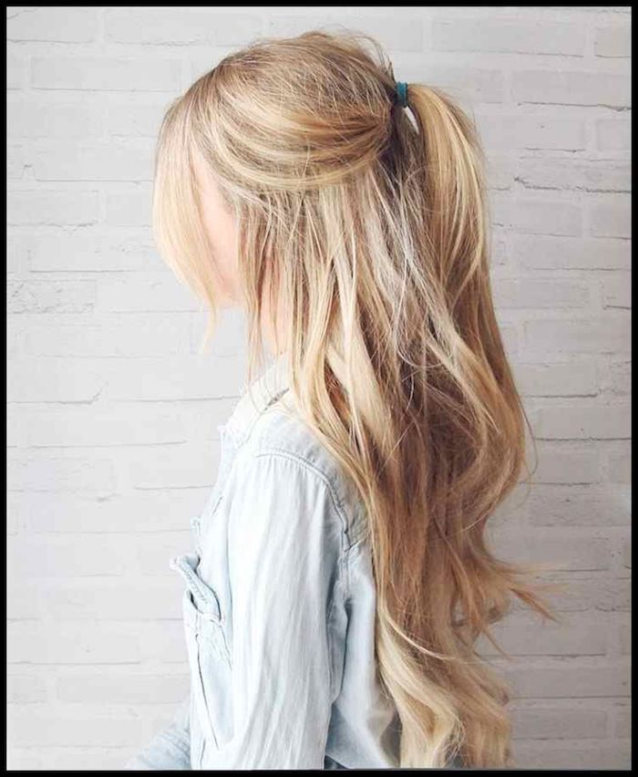 1001 Frisuren Fur Dunnes Haar Frisuren Fur Feines Haar Schnitte Volumentricks Styling Lange Blonde Haare Frisur Ideen Langhaarfrisuren