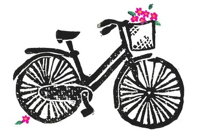 drawing bikes.
