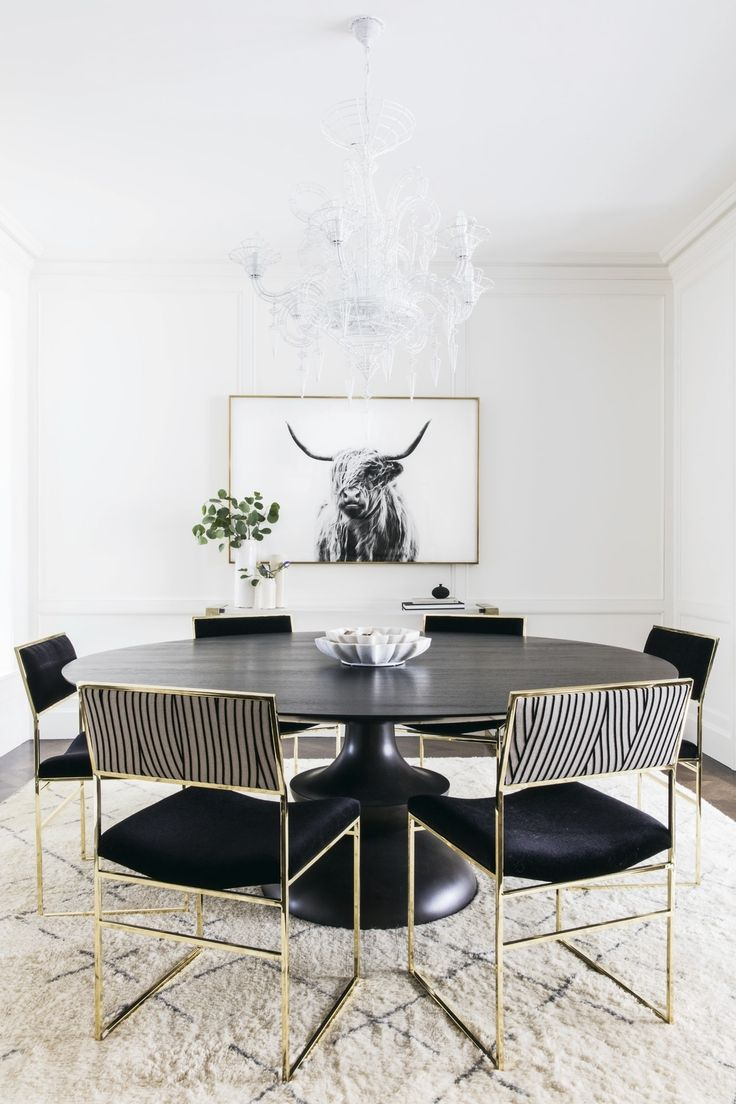 Marina Dining Room    Dining  Contemporary  Modern by Lauren Nelson Design