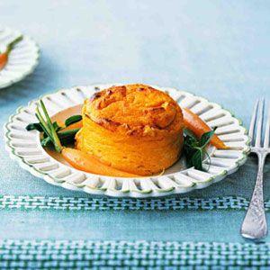 Carrot Pudding Souffles