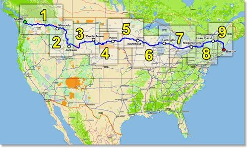 Cycle America / Pedal the Peaks - Bicycle Tours and Events