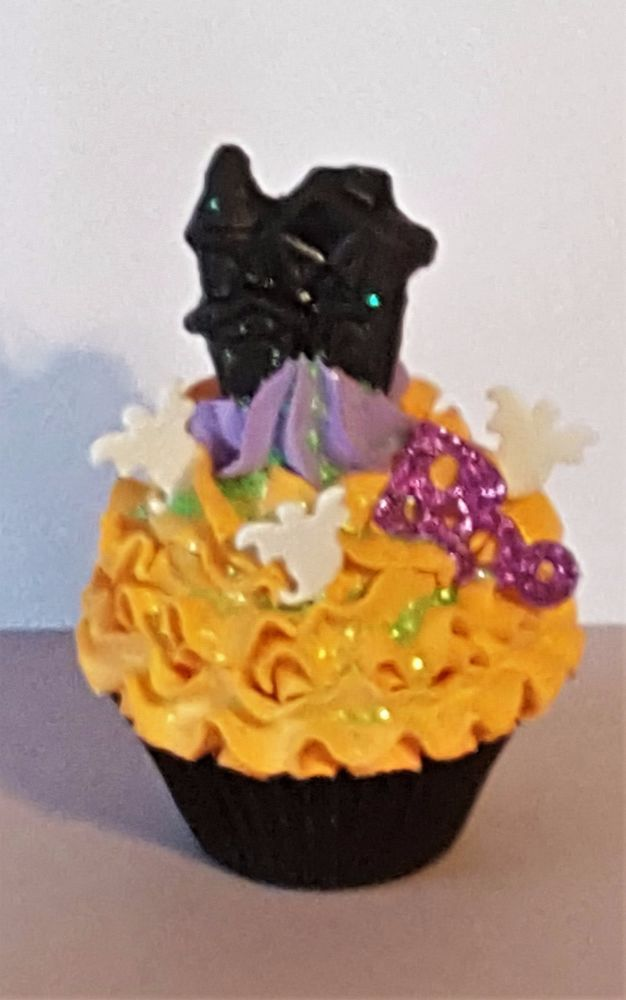 haunted house fake cupcake halloween decorations kitchen decor photo props