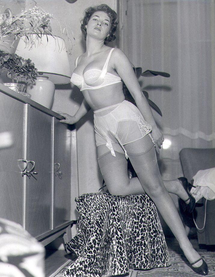 panties Vintage lesbians sheer