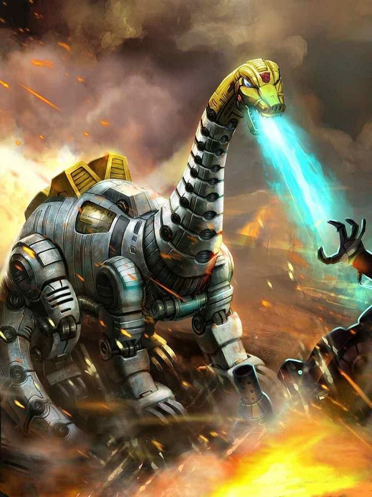 Dinobot Sludge Artwork From Transformers Legends Game