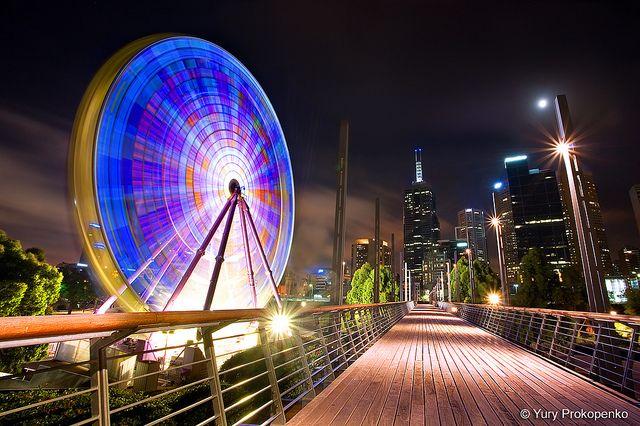 Melbourne, Australia :: Giant Sky Wheel | Flickr - Photo Sharing!