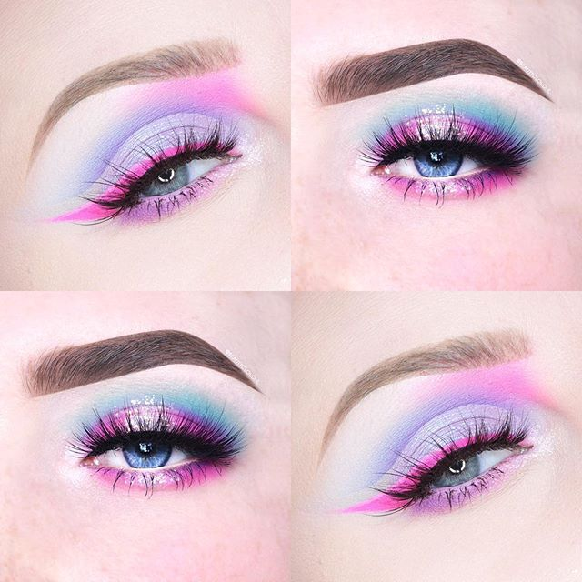 Cotton Candy Collab with the most awesome & talented @beautycloudnl was so stoked to work with her on this!! So go check out her page & I'll post details on my look later on #beccaboo318