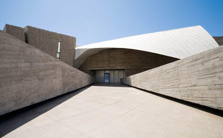 Magma Centro de Convenciones, AMP arquitectos, photo Ricardo Santonja