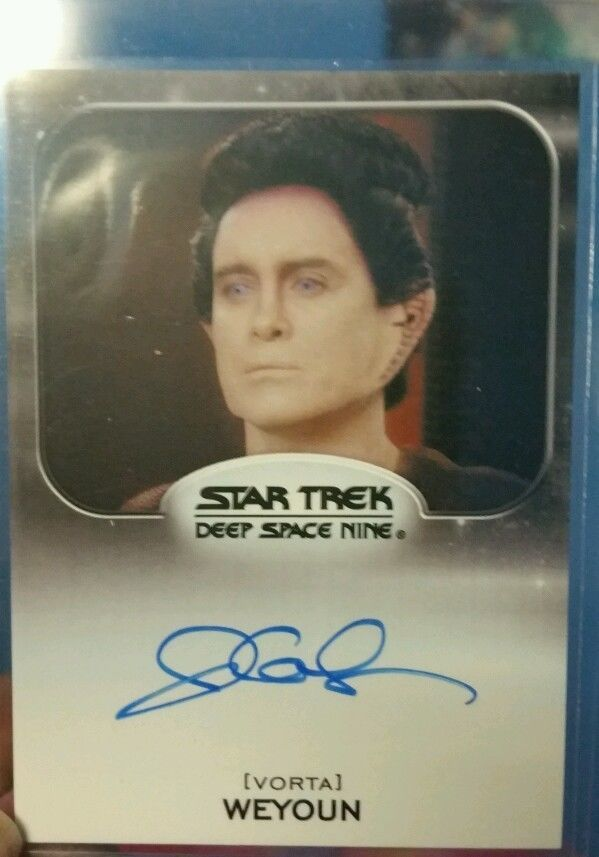 Jeffrey Combs signed Star Trek Card Vorta Weyoun popular movie tv star in Collectibles, Trading Cards, Sci-Fi, Fantasy | eBay $27 w/ FREE SHIPPING