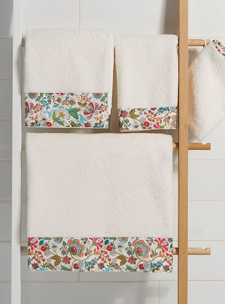Mabelle Liberty floral towels - Bath Towels - Mabelle