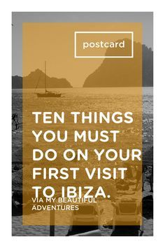 First time in Ibiza? Wondering where to start? There is so much more to Ibiza than meets the eye. If this is your first visit, follow our guide to the top ten things you must do to make your first Ibiza experience one you will never forget: