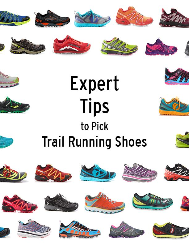 Good advice on how to choose trail running shoes. Bc my two pairs of brooks aren't enough