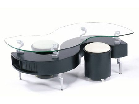Modern Black And White Coffee Table And Desk Design   Luxury And .