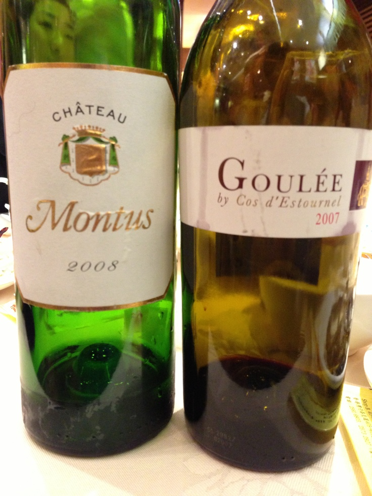 Today's French wines brought in to Seafood restaurant.